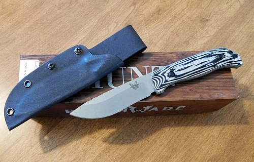 Изображен Benchmade 15001 Saddle Mountain Skinner