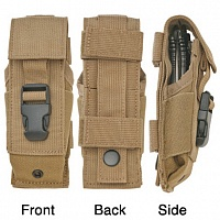 Нейлоновый чехол Timberline Black Cordura Folding Knife Sheath Coyote Tan
